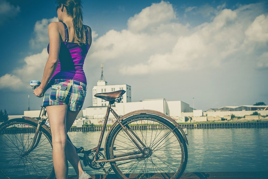 Riding cycle is fun and good for health